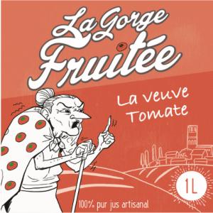 La Veuve Tomate, pur jus de tomate artisanal ©La Gorge Fruitée