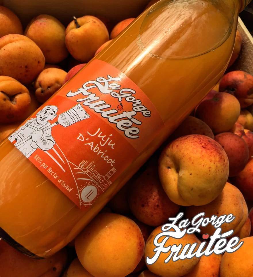jus d'abricot commercialisé en hérault