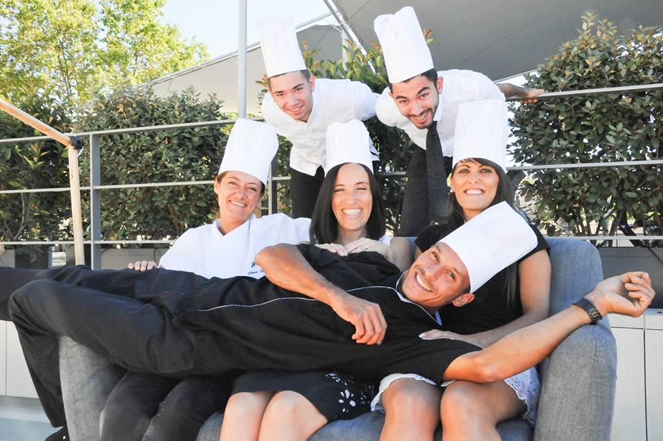 L'équipe O petits bontemps brasserie à Béziers