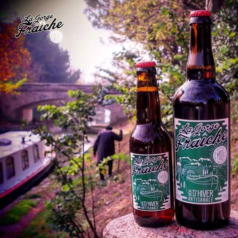 la bière de Noël disponibles chez la bière artisanale La Gorge Fraîche