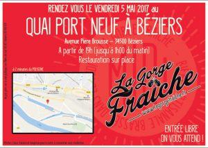 bière artisanale à Béziers La Gorge Fraîche