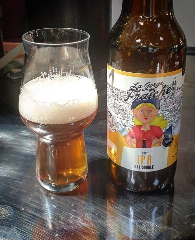 bière artisanale gorge fraiche IPA india pale ale